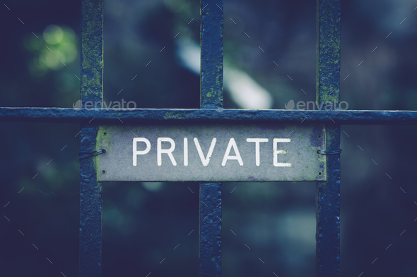 Privacy - Stock Photo - Images