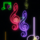 Neon Musical Show 4 - VideoHive Item for Sale