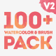 Watercolor & Brush Pack - VideoHive Item for Sale