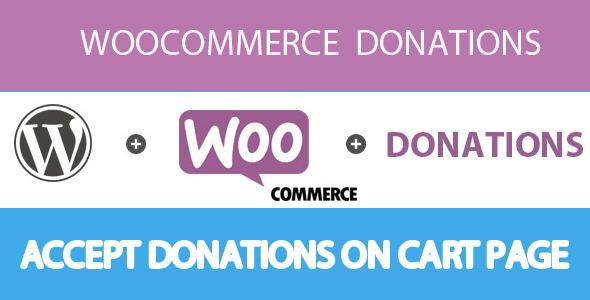 Woocommerce Donation plugin - CodeCanyon Item for Sale