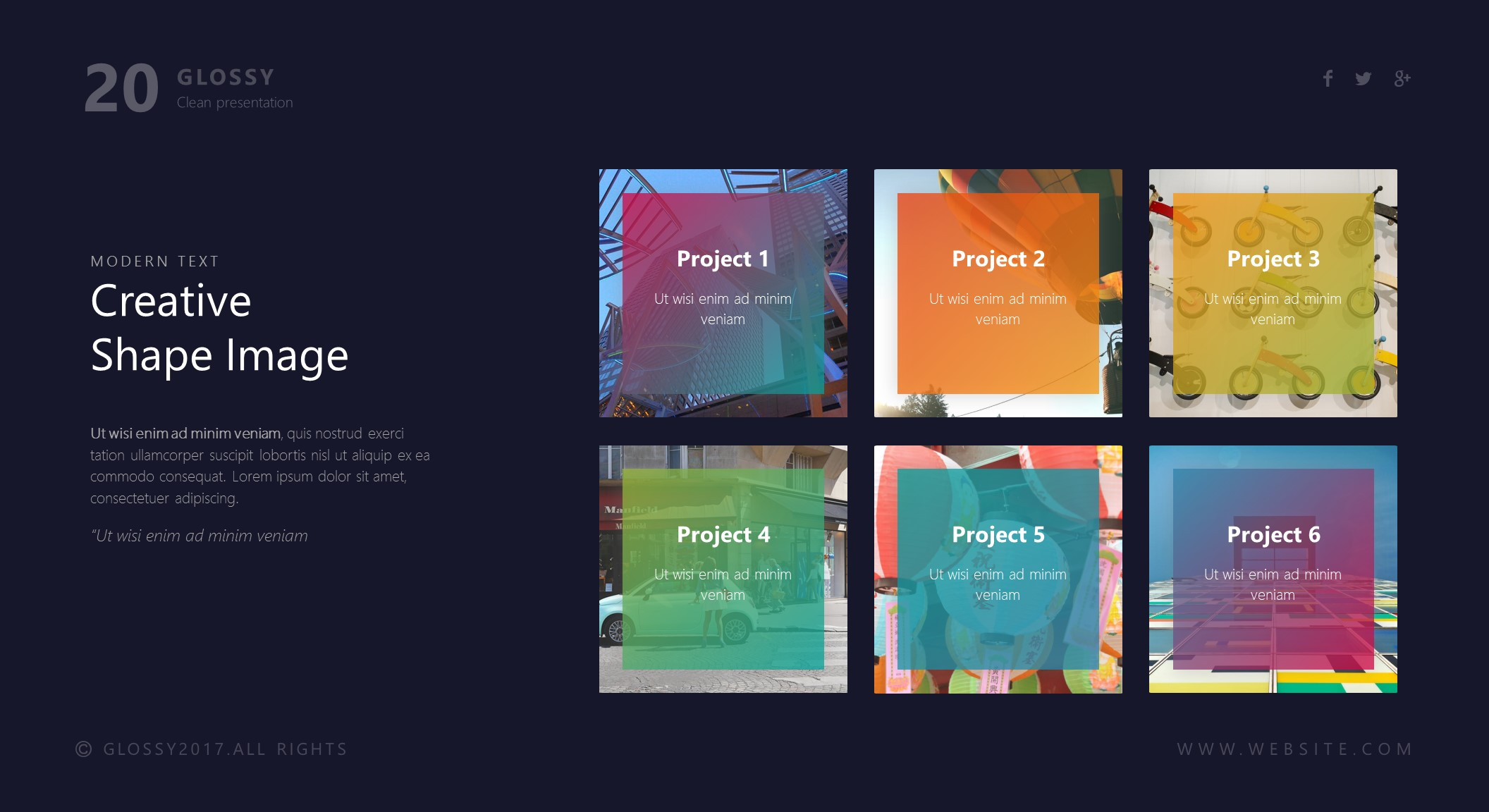 Glossy powerpoint template by brandearth graphicriver jpg preview image setslide20 copy toneelgroepblik Image collections