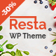 Resta - Restaurant WordPress Theme Nulled