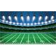 American Football Stadium Arena with Spotlights