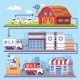 Milk Production Processing From a Dairy Farm - GraphicRiver Item for Sale