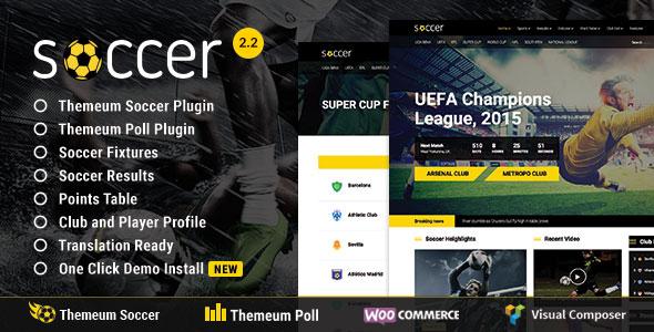 Soccer, Football, Sport WordPress Theme | WP Soccer for Sports