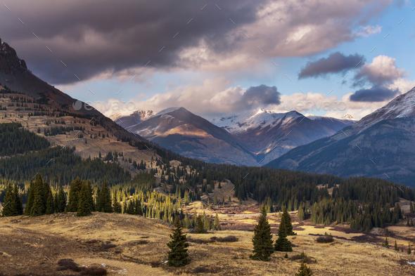 Colorado mountains - Stock Photo - Images