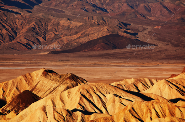 Dearth valley - Stock Photo - Images