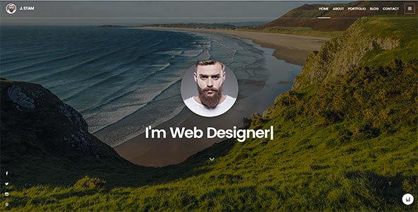 Creative Portfolio Template - J. Stam