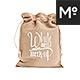 Drawstring Bag / Burlap Jute Mock-up - GraphicRiver Item for Sale