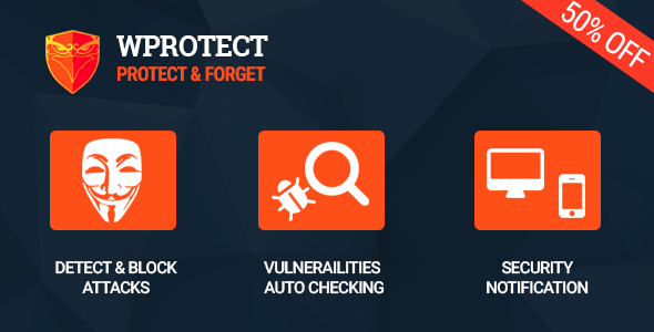 WProtect - Total security plugin for Wordpress - CodeCanyon Item for Sale