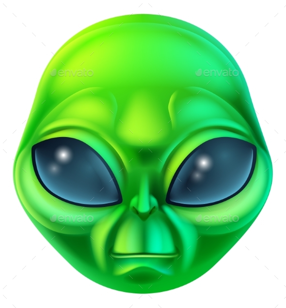 Cartoon Alien Character - Miscellaneous Characters