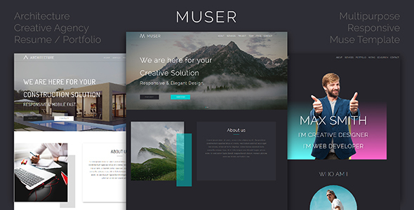 Muser_Multipurpose Creative Muse Template