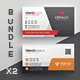 Business Card Bundle 32 - GraphicRiver Item for Sale