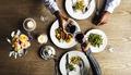 Couple Having Dinner Date at Restaurant - PhotoDune Item for Sale