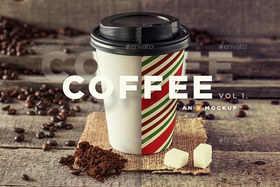 Coffee Branding Mockup - Vol 1.