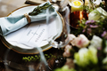 Elegant Restaurant Table Setting Service for Reception with Rese - PhotoDune Item for Sale
