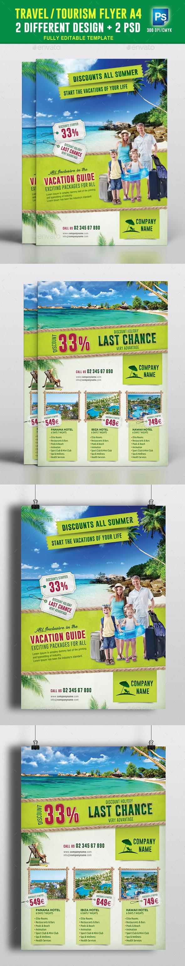 Travel & Tourism Flyer Vol 01 - Commerce Flyers