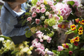 Florist Making Fresh Flowers Bouquet Arrangement - PhotoDune Item for Sale