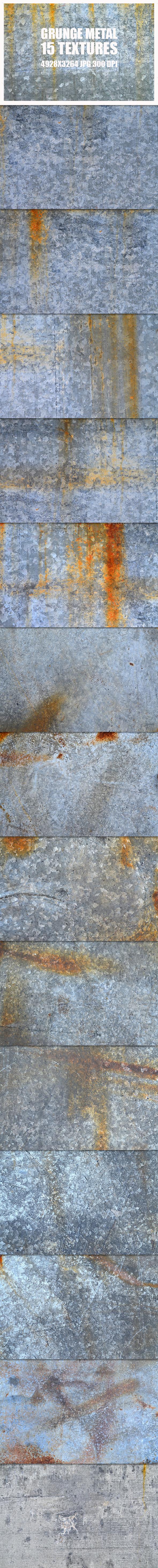 Grunge Metal Textures 3 - Metal Textures