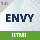 Envy - One Page Business - ThemeForest Item for Sale