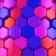 Animated Colored Hexagons - VideoHive Item for Sale