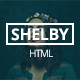 Shelby - Personal Portfolio Template - ThemeForest Item for Sale
