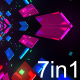 Crystals VJ Loops Backgrounds - VideoHive Item for Sale