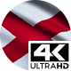 Flag 4K Alabama On Realistic Looping Animation With Highly Detailed Fabric - VideoHive Item for Sale
