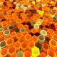 Network Of Hexagons - VideoHive Item for Sale