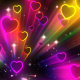 Heart Neon Rays - VideoHive Item for Sale