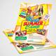 Kids Summer Camp Flyer Design - GraphicRiver Item for Sale