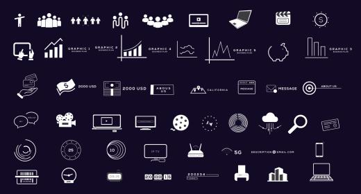 BigData - Infographics Pack