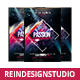 Passion Church Flyer - GraphicRiver Item for Sale
