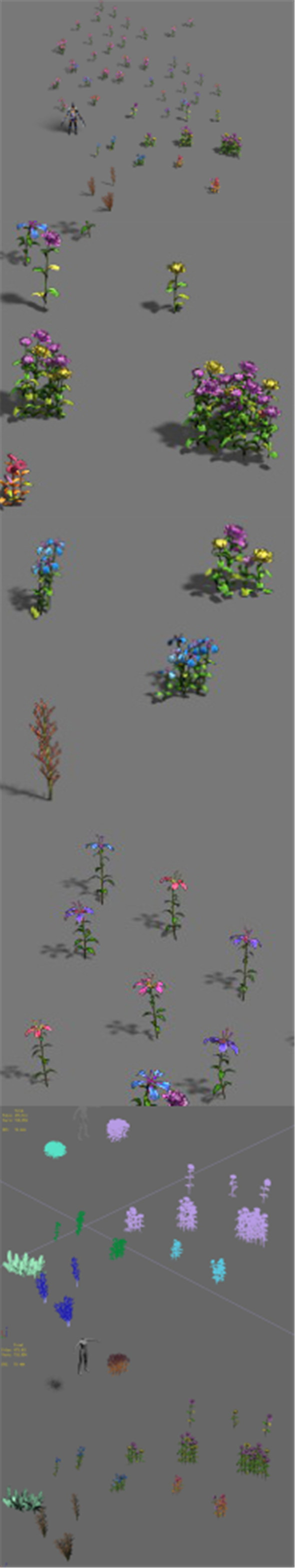 Plant - flowers - 3DOcean Item for Sale