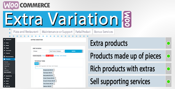 WooCommerce Extra Variation - CodeCanyon Item for Sale