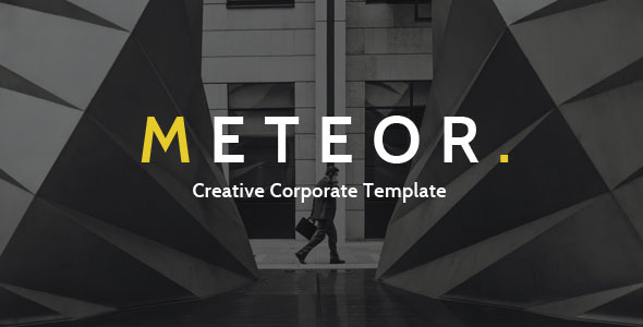 Meteor Creative Corporate Template