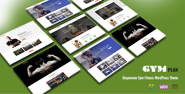 Gym, Fitness & Sports WordPress Theme – GymPlan