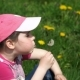 Girl Blowing on Dandelions - VideoHive Item for Sale