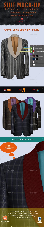 Suit Mockup - Miscellaneous Apparel