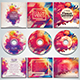 Colorful CD/DVD Album Covers Bundle Vol. 4 - GraphicRiver Item for Sale
