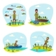 Fisher Man Fishing Vector Big Fish Catch - GraphicRiver Item for Sale