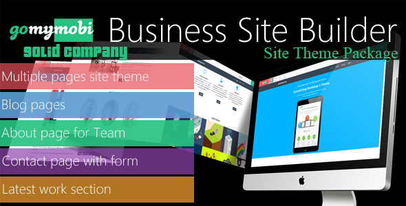 gomymobiBSB's Site Theme: Solid Company - CodeCanyon Item for Sale