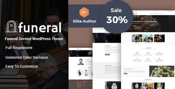 Funeral Service | Funeral Home WordPress Theme