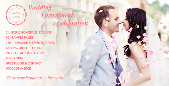 Endless Love | Wedding WordPress Theme