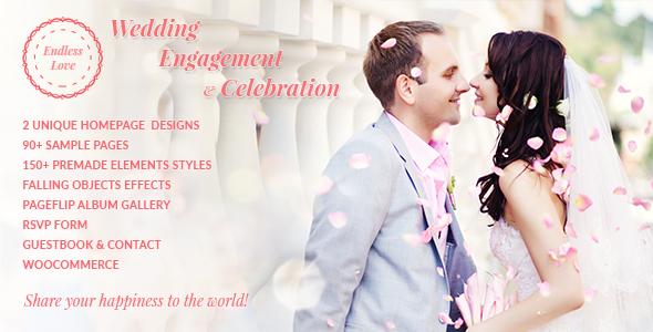 Endless Love | Wedding WordPress Theme