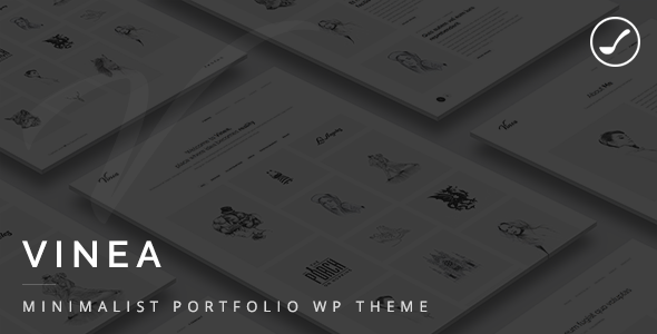 Vinea - Minimalist Freelance And Agency Portfolio WP Theme
