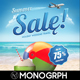 Summer Sale Flyer - Holiday - GraphicRiver Item for Sale