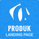 Produk Responsive Showcase Landing Page