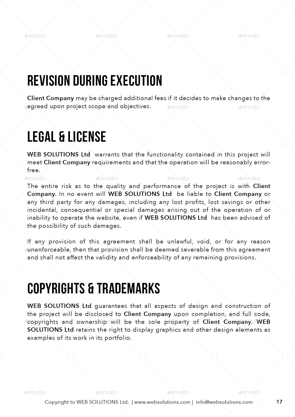 Website Development Proposal by carlosfernando – Website Development Agreement
