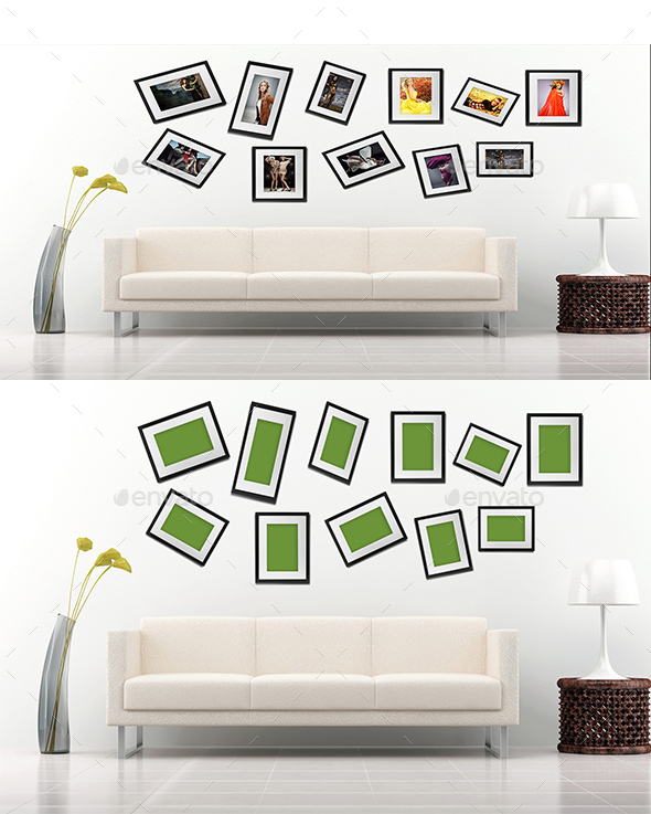 Frame Mockup - Print Product Mock-Ups